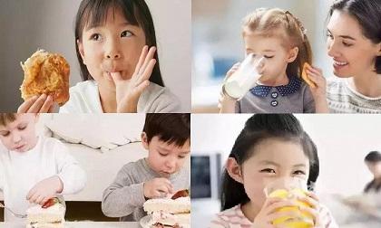 chăm trẻ, dinh dưỡng cho trẻ, thực phẩm không tốt cho trẻ,